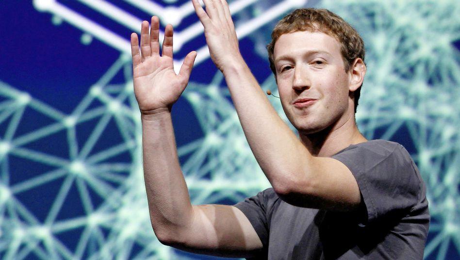 Facebook-Gründer Mark Zuckerberg: Das Netzwerk greift nach Nutzerdaten