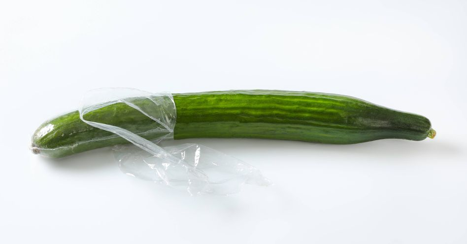 Sie soll aus endlich aus Supermärkten verschwinden: Einzelverpackungsfolie für Gurken