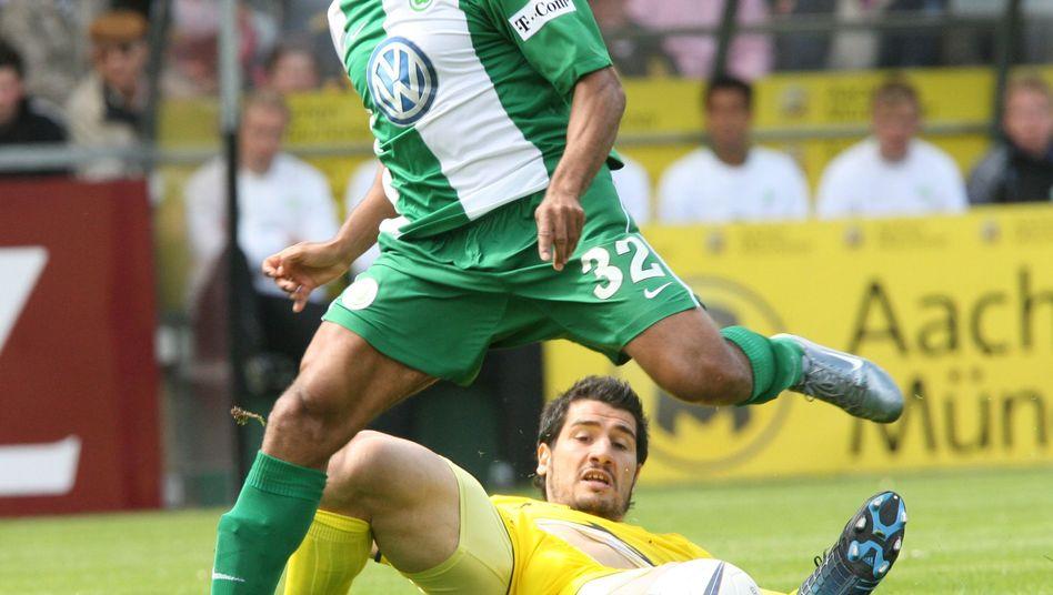 Marcelinho 2007 im Trikot des VfL Wolfsburg: Der Brasilianer hat Ärger in der Heimat