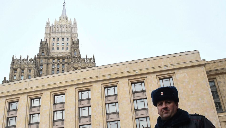 Außenministerium in Moskau (Archivbild)