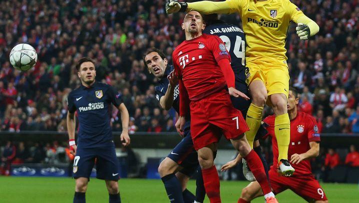Einzelkritik Atlético Madrid: Unsichtbar bis zur 54. Minute