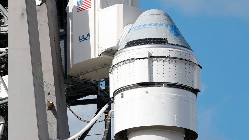 """""""Starliner"""" auf einer """"Atlas 5""""-Rakete: Im Dezember sollte die Raumkapsel zur ISS fliegen, kam aber nie an"""