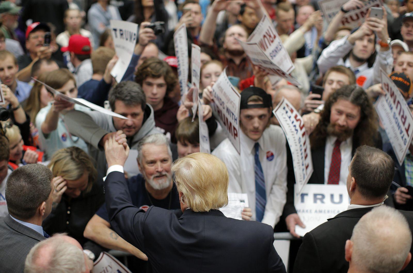 Trump / Begeisterung
