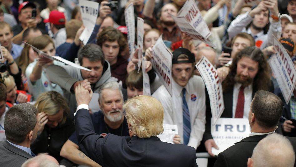 Trump-Fans im Wahlkampf (Symbolbild)