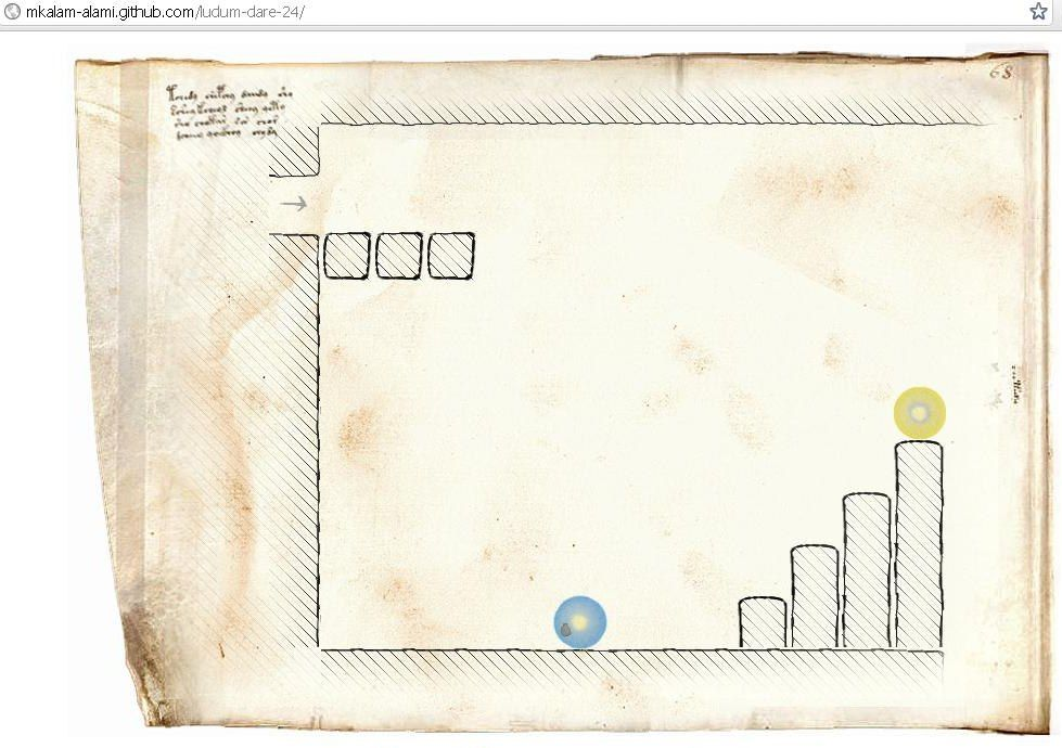 NUR ALS ZITAT Screenshot The Voynich Experiment