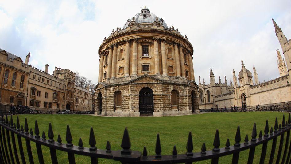 Universität in Oxford: Derzeit sind knapp 150.000 Studierende aus EU-Staaten an britischen Hochschulen eingeschrieben