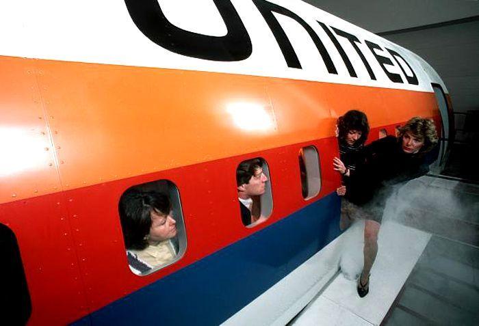 """Flugsimulator-Übung: """"Da wir uns noch in der Luft befinden, besteht kein Grund zur Sorge"""""""
