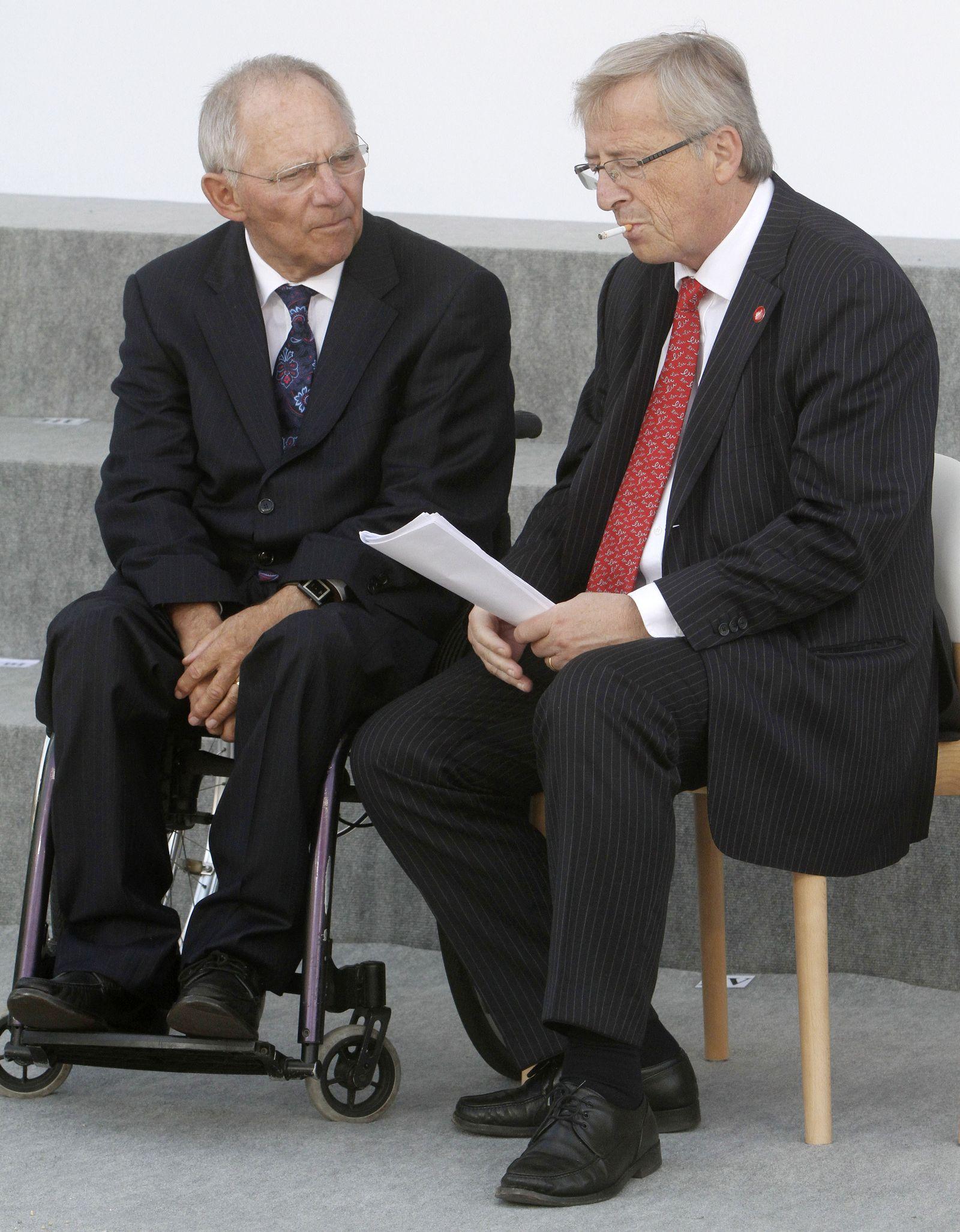 Schäuble Juncker