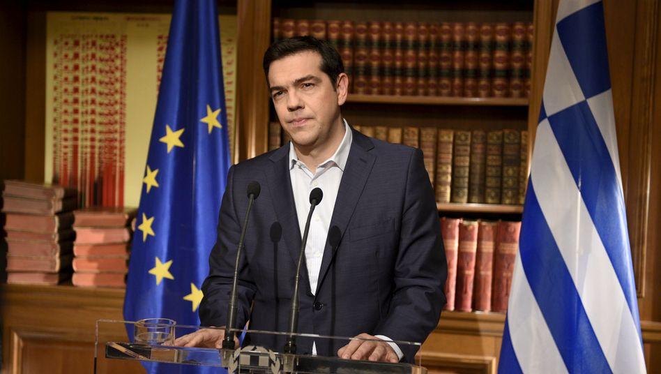 Griechenlands Premier Tsipras: Schicksalhafte Tage stehen bevor
