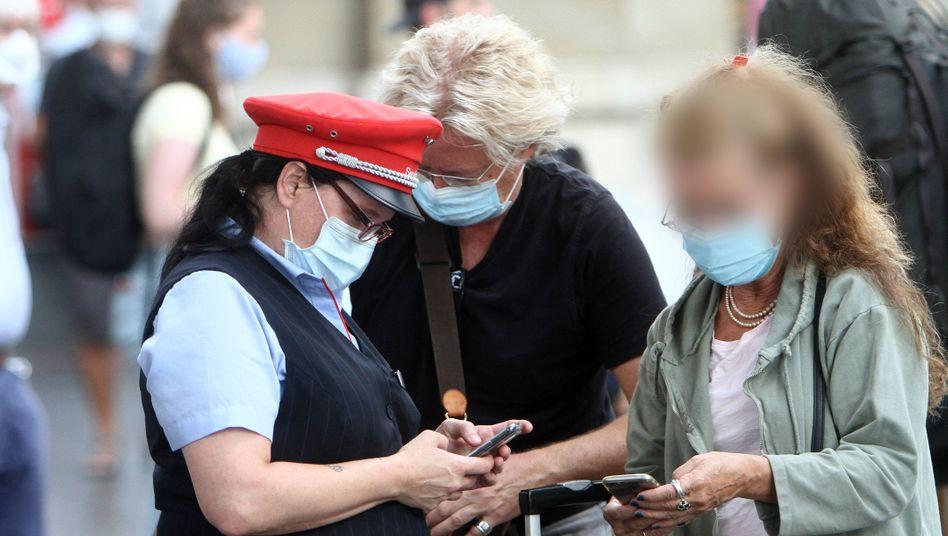 Hauptbahnhof Frankfurt am Main: Verstoß gegen die Maskenpflicht soll strenger geahndet werden
