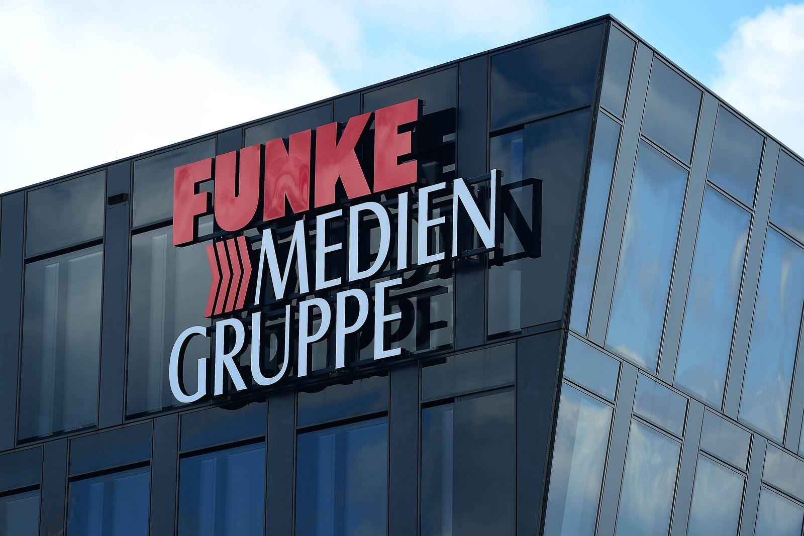 Funke Mediengruppe am 21.03.2019 in Essen ( Nordrhein-Westfalen ) Die Funke Mediengruppe mit Sitz in Essen ist ein Medie