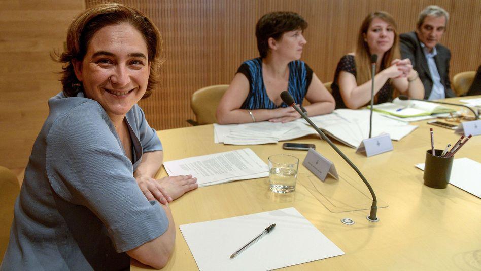 Ada Colau: Die neue Bürgermeisterin hat andere Pläne