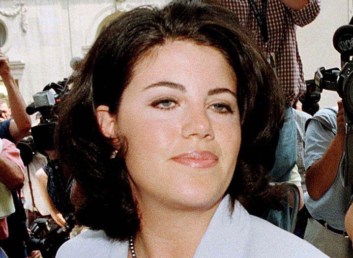 Monica Lewinsky, im Juli 1998