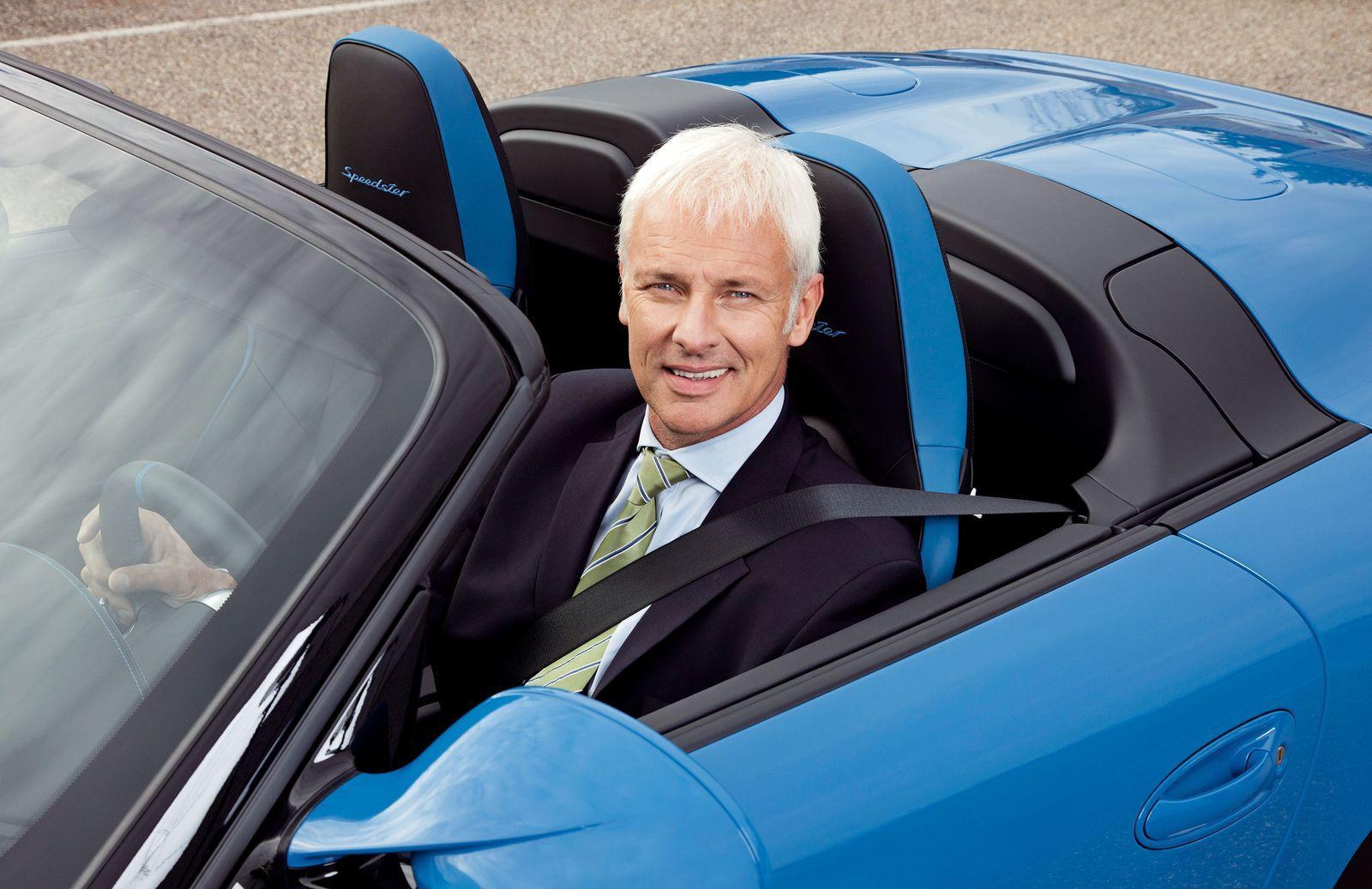 KaSP Matthias Müller / Porsche blau