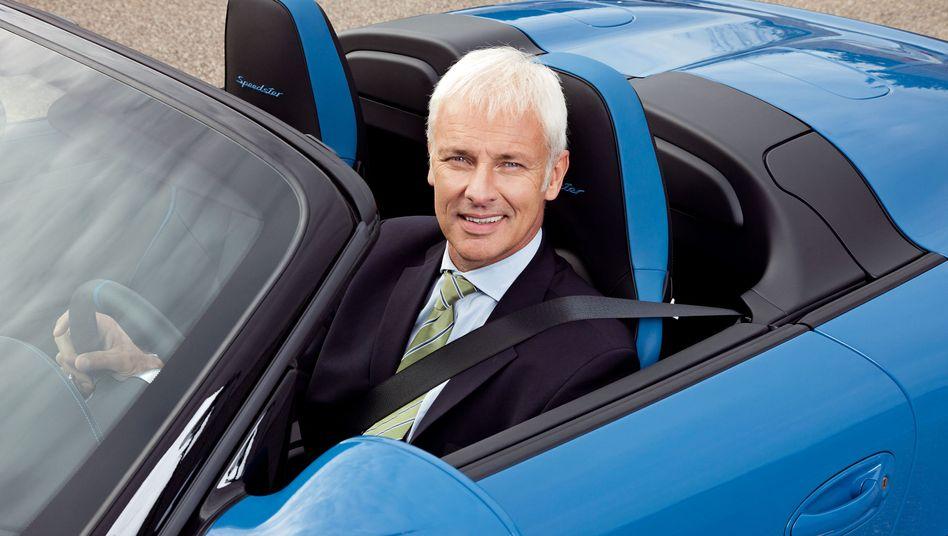 Matthias Müller: Von Volkswagen an die Porsche-Spitze geschickt