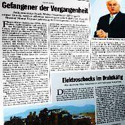"""Artikel """"Gefangener der Vergangenheit"""" (SPIEGEL 4/07): Gegenstand von Ermittlungen"""