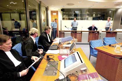 """Uno-Kriegsverbrechertribunal in Den Haag: """"Gefahr für Millionen Amerikaner"""""""