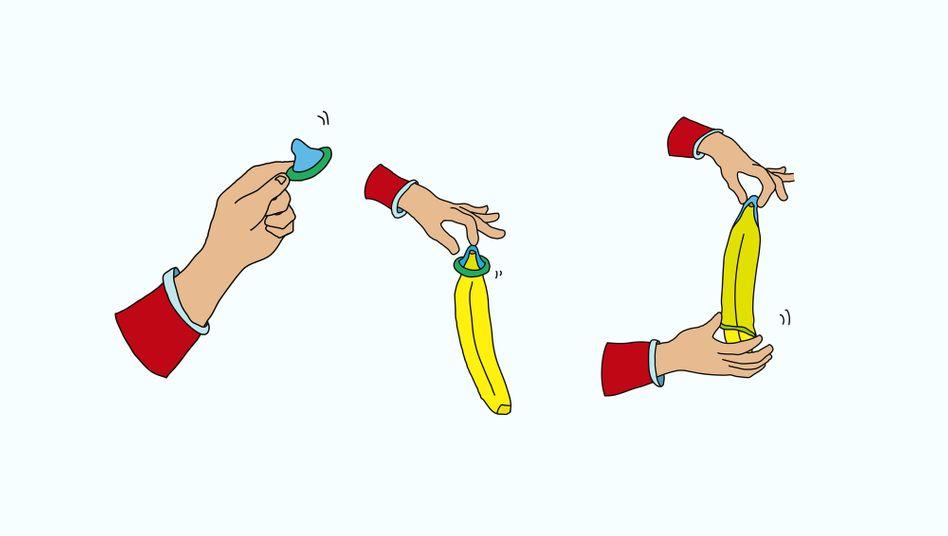 Sexualkunde-Illustration: Sind Dildos wirklich ein Problem?