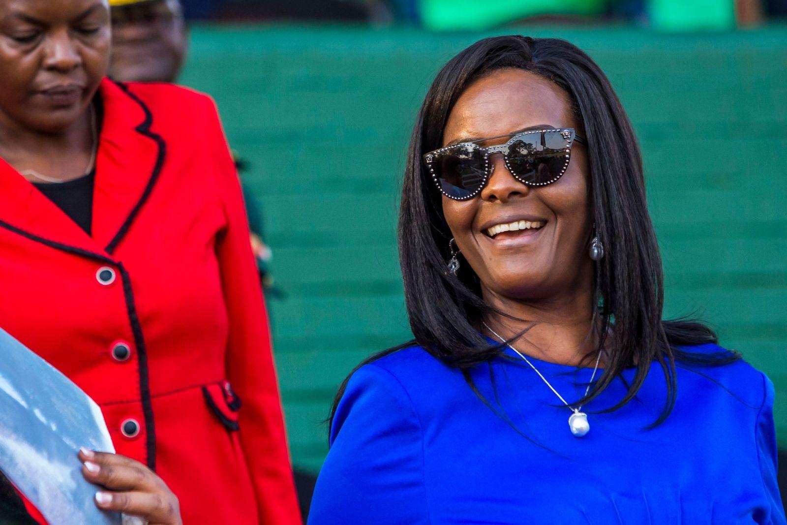 FILES-ZIMBABWE-POLITICS-CRIME-ELEPHANTS-MUGABE