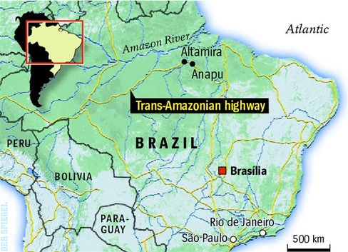 Altamira is located in Brazil's largely lawless Amazon region.