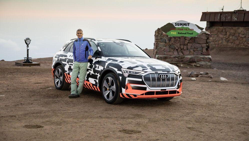 Audi e-tron: Auf Stromlinie