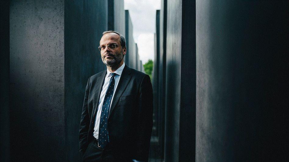 """Antisemitismusbeauftragter Klein am Berliner Holocaust-Mahnmal:""""Eigentlich ein Wunder"""""""