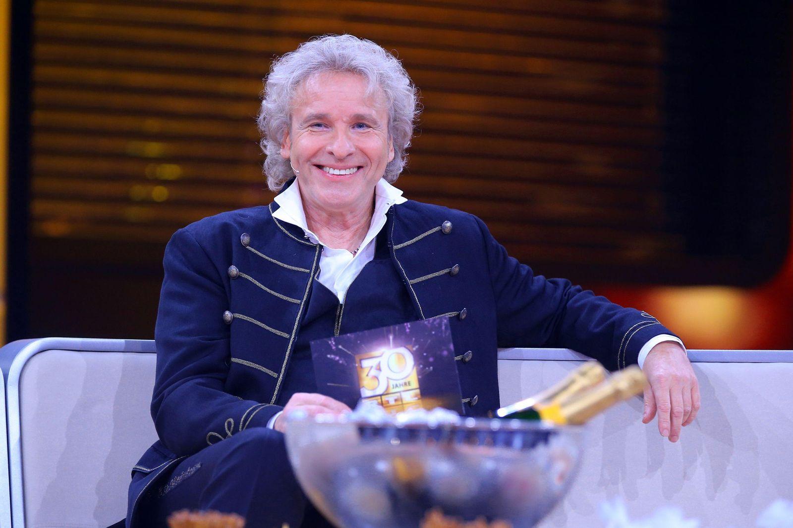 EINMALIGE VERWENDUNG TV/ 30 Jahre RTL - Die große Jubilumsshow mit Thomas Gottschalk