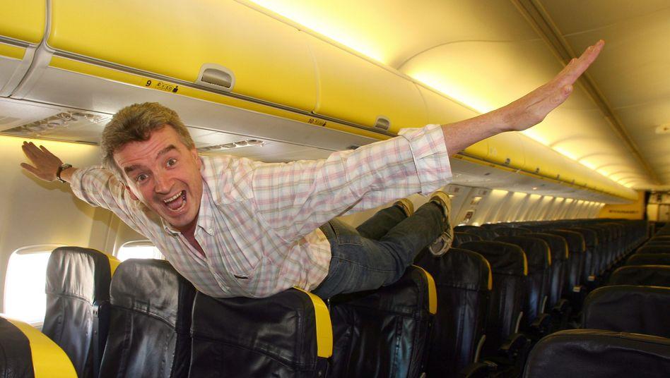 Ryanair-Chef O'Leary: Die Passagier-Luftfahrt revolutioniert