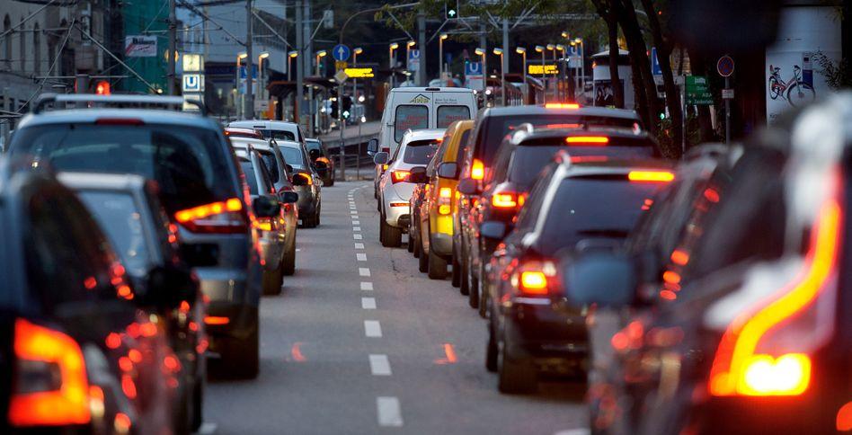 Stau in Stuttgart: In der Schwabenmetropole drohen die längsten Wartezeiten