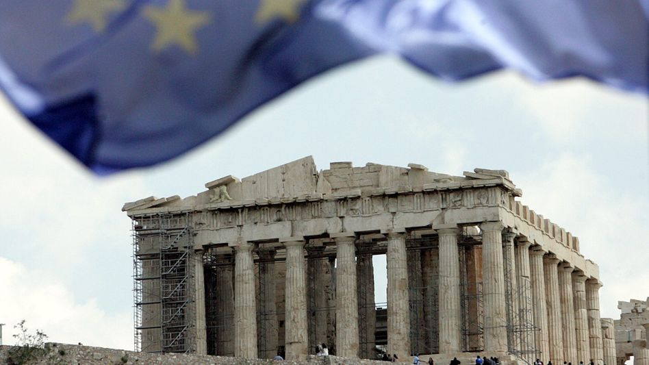 The Parthenon on the Acropolis: Greece's finances are continuing to crumble.