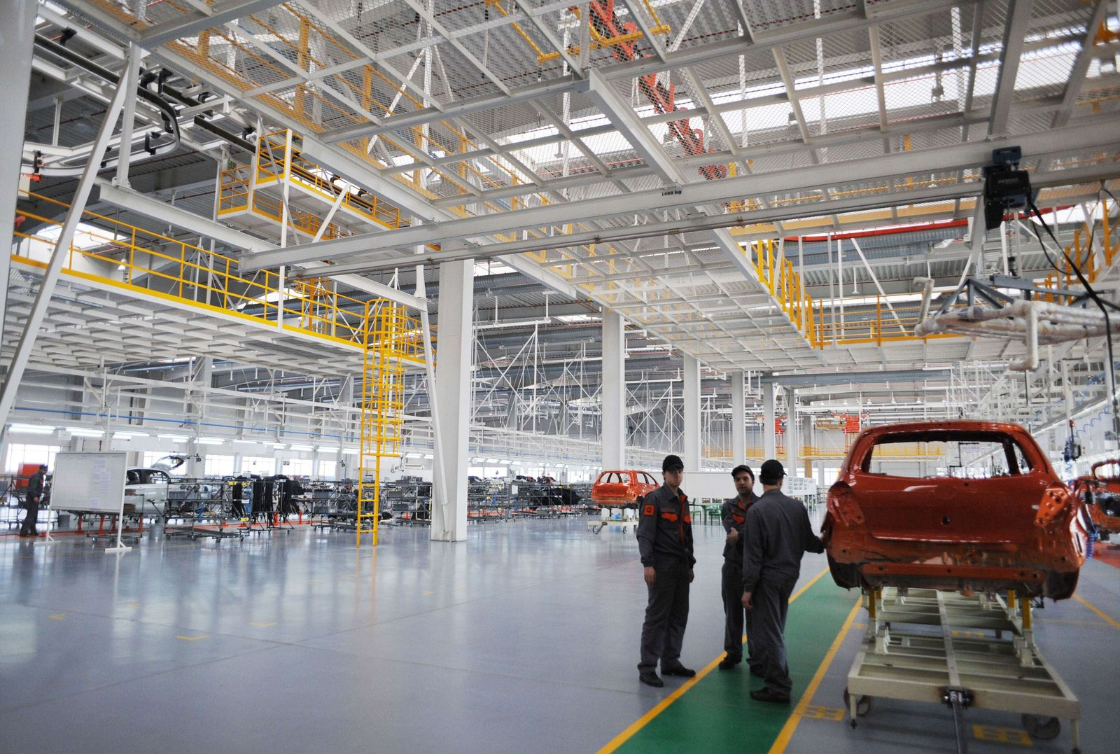 BULGARIA-CHINA-INDUSTRY-AUTOMOBILE-EU