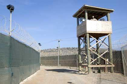 Camp Delta in Guantánamo: Vorbild für Schulaufführungen in Pakistan