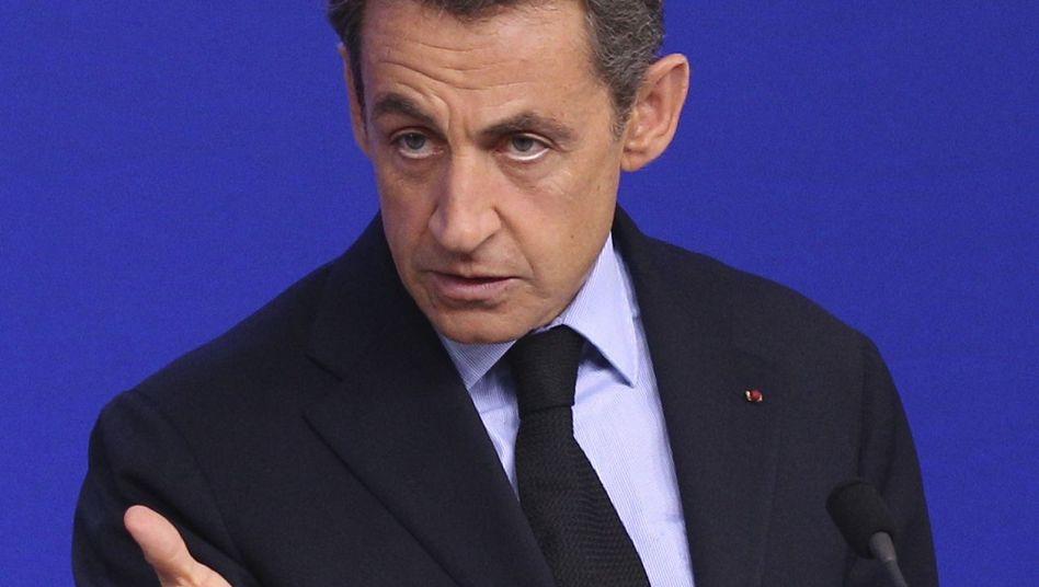 "Präsident Sarkozy: ""Du hasst den Euro"""