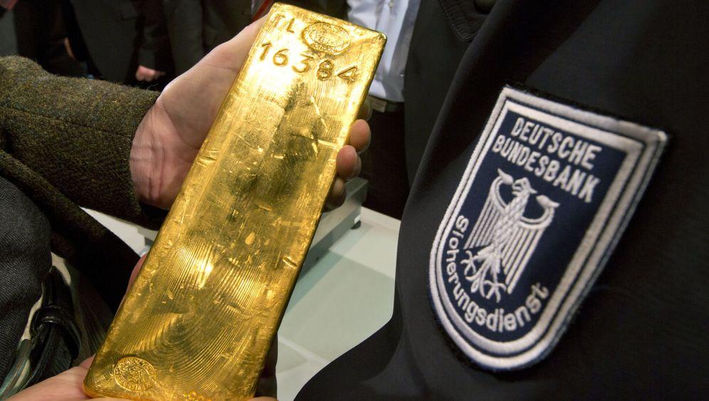 Deutsche Auslandsreserven: Hallo, Goldschatz!