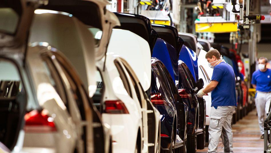 VW-Produktion in Wolfsburg: Wochenlanger Stillstand