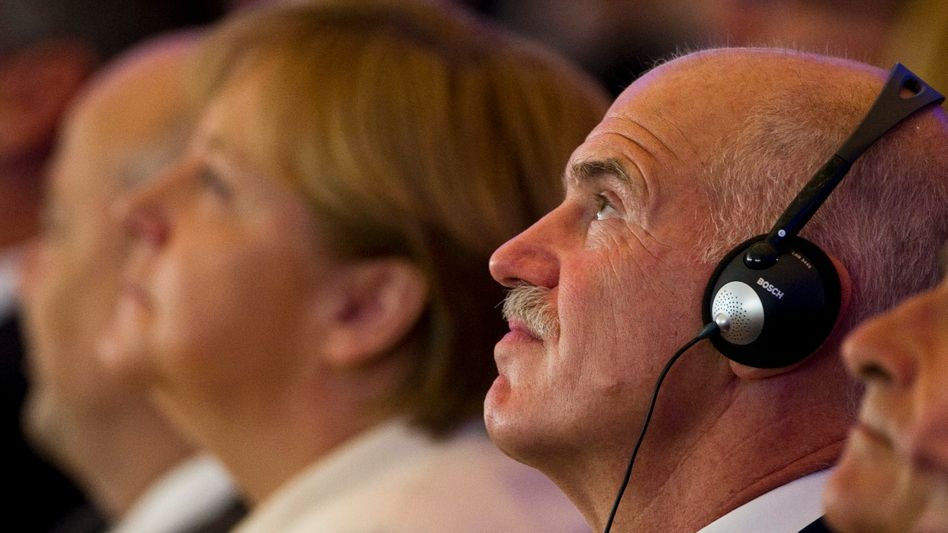 Greek Prime Minister Giorgios Papandreou is in Berlin on Tuesday for talks with Chancellor Angela Merkel.