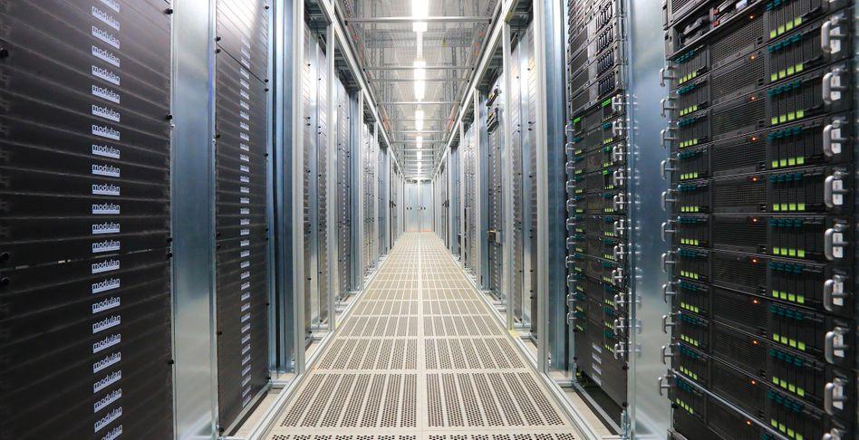 Telekom-Rechenzentrum: Die NSA hat laut den Dokumenten Zugriffspunkte