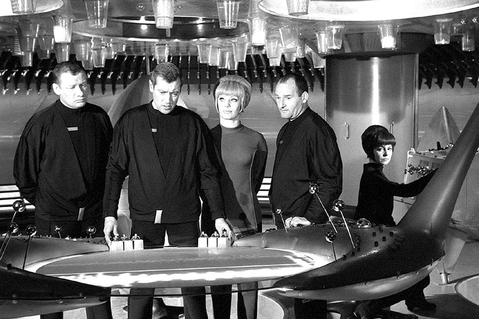 """ZeitZeichen: Start der Fernsehserie """"Raumpatrouille vor 35 Jahren"""