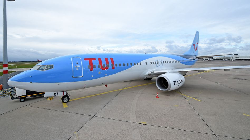 TUIfly-Maschine in Hannover