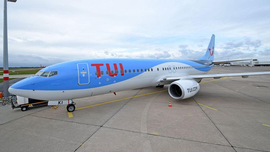 TUIfly-Maschine (Archivbild)