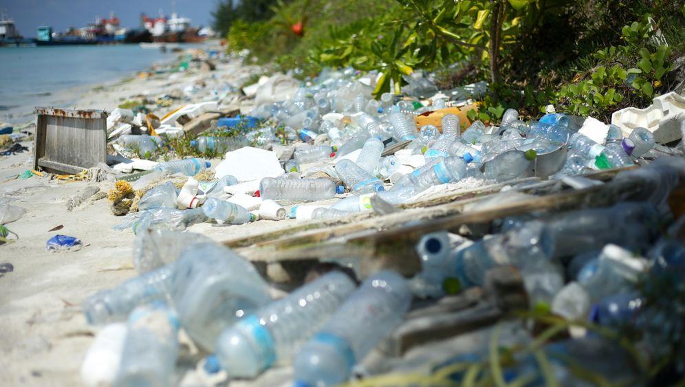 Die Müllinsel Thilafushi auf den Malediven