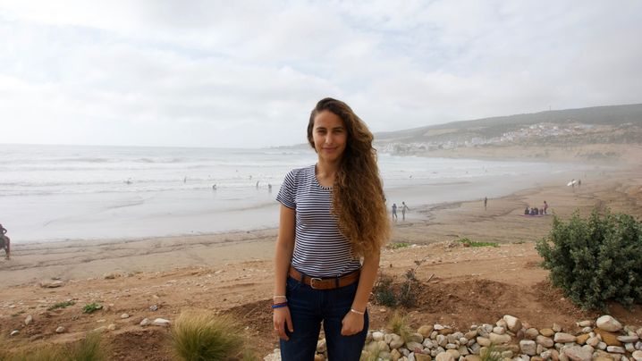 Meryem El Gardoum: Surfen gegen das Patriarchat