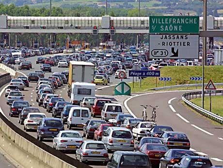 Autobahnmautstelle in Frankreich: Verkauf von Tafelsilber