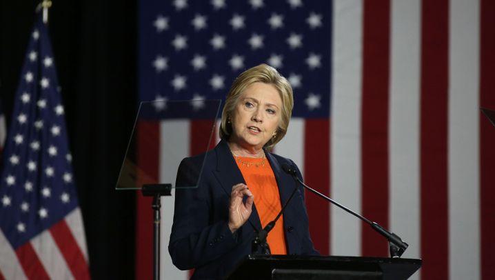 Wahlkampfrede: Clintons beste Zitate über Trump