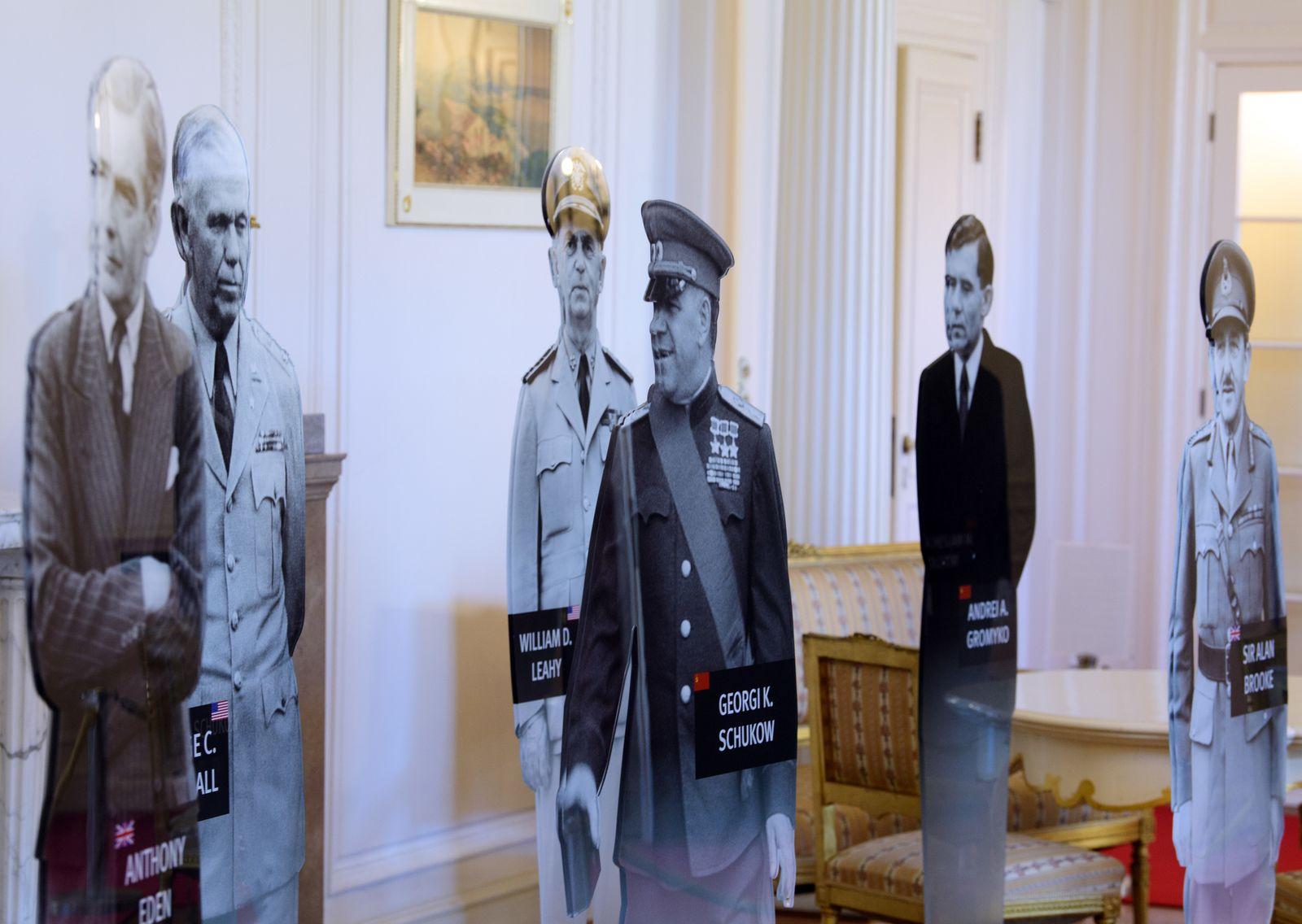 """Ausstellung """"Potsdamer Konferenz 1945 - Die Neuordnung der Welt"""""""