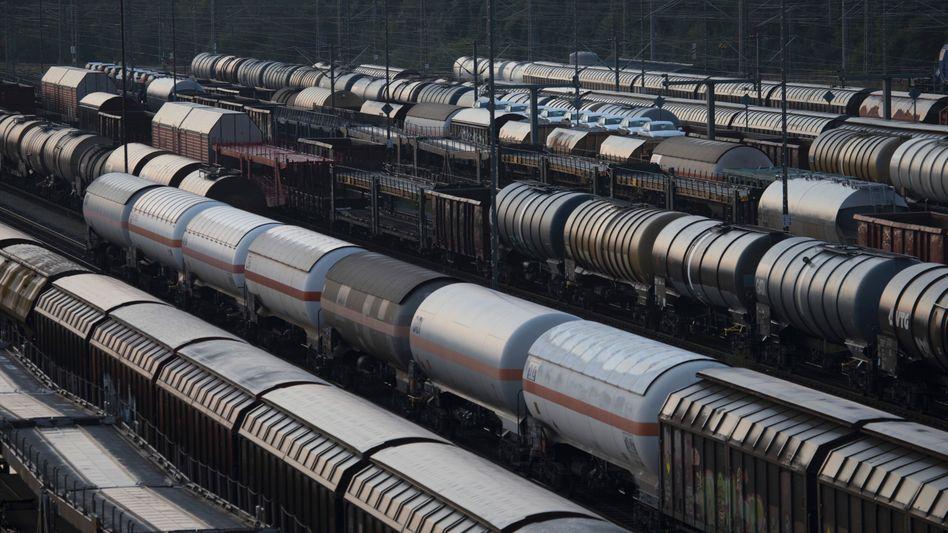 Güterzüge in Deutschland