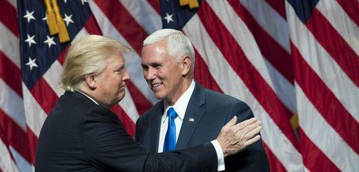 Mike Pence: Wie Donald Trump seinen Vizepräsidenten erledigte