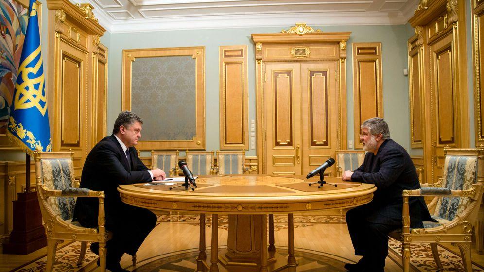 Ukraine: Entlassung im goldenen Saal