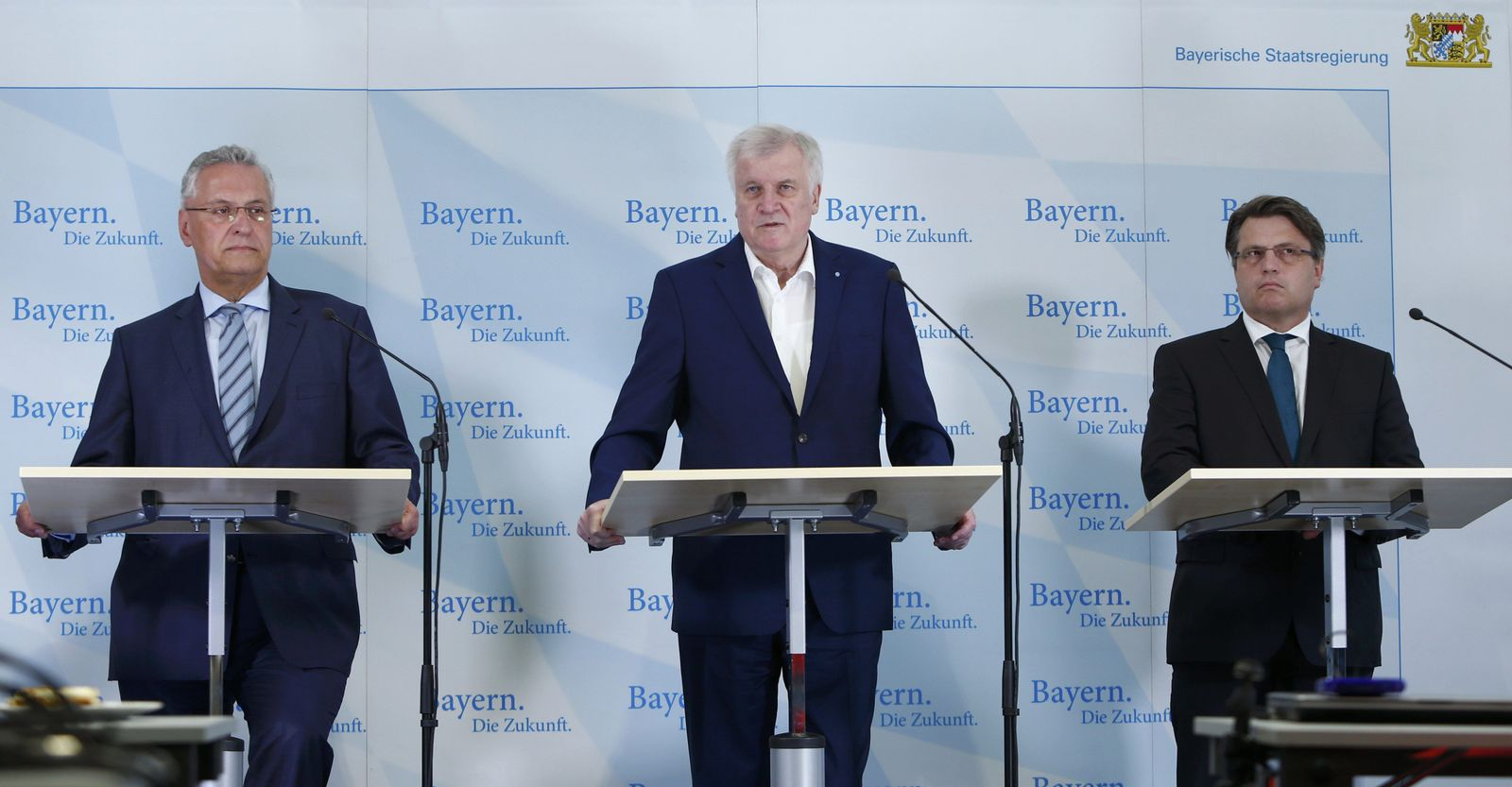 Herrmann, Seehofer, Bausback