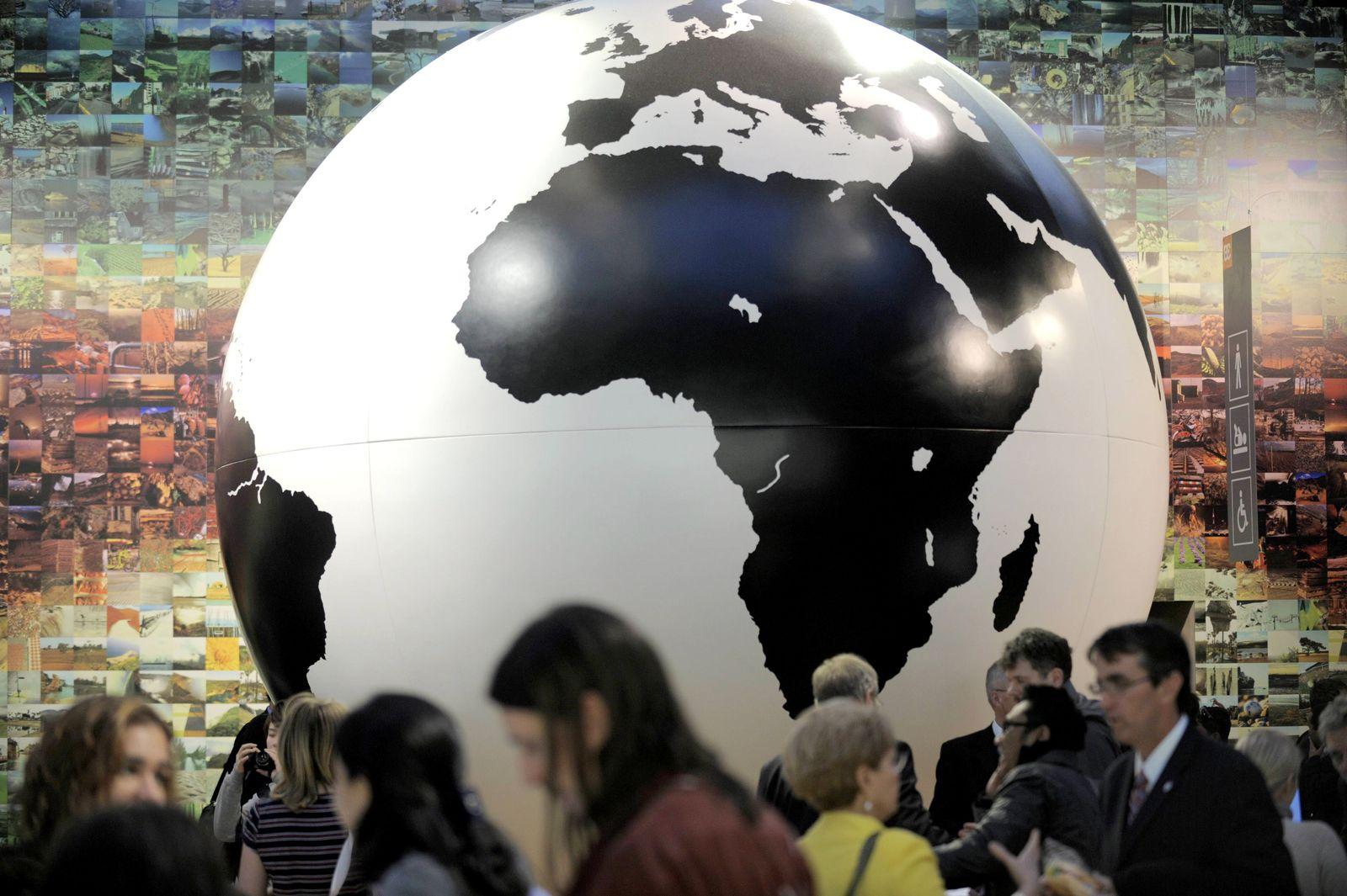 NICHT VERWENDEN Weltklimakonferenz in Kopenhagen